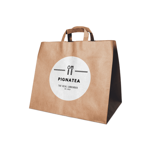 Packaging della Pignatea, la pausa pranzo salutare ed eco-friendly.