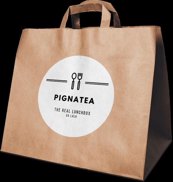 Il packaging della lunchbox di Lalo: la Pignatea.